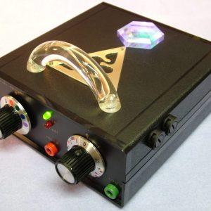 violet ray crystal resonator