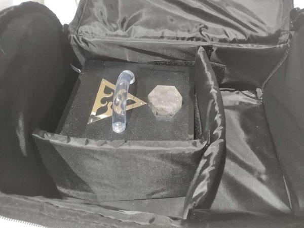 Violet Ray Technology - Soft Case Inside Closeup