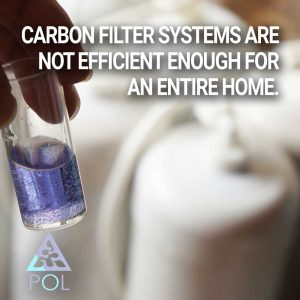 Carbon filters not efficient enough for an entire home